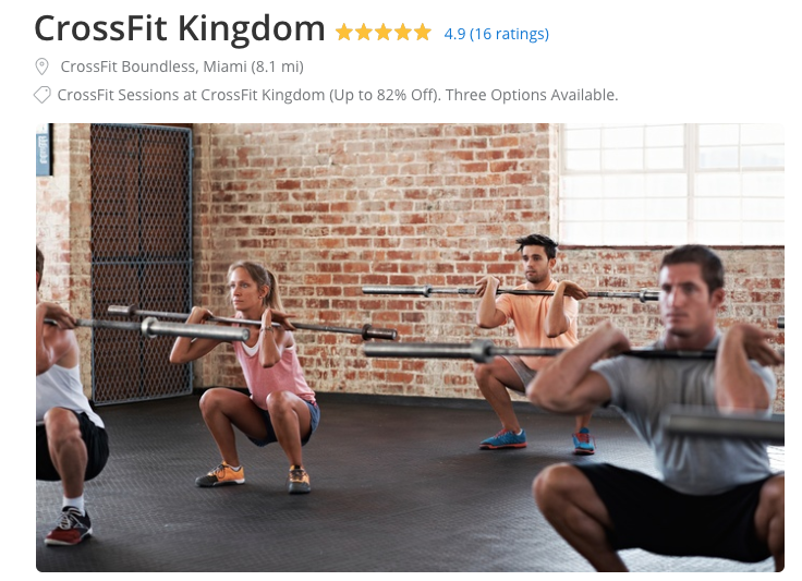 groupon for crossfit