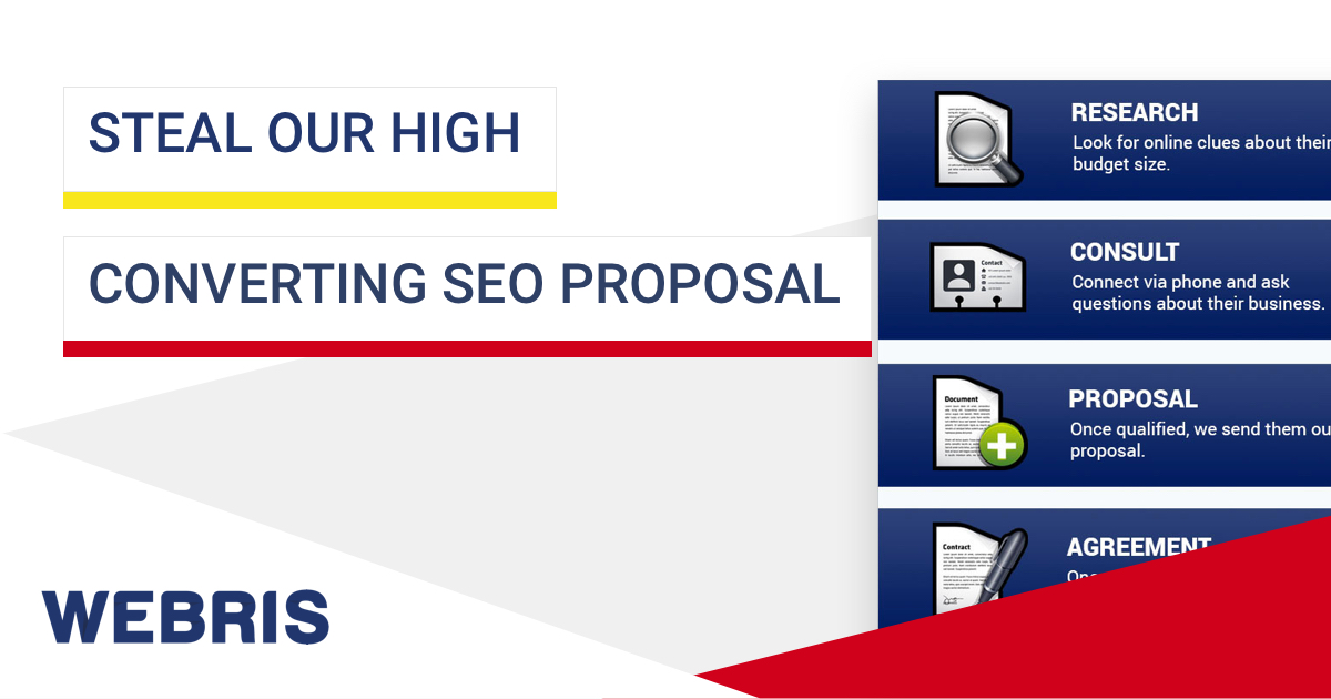 online advertising proposal