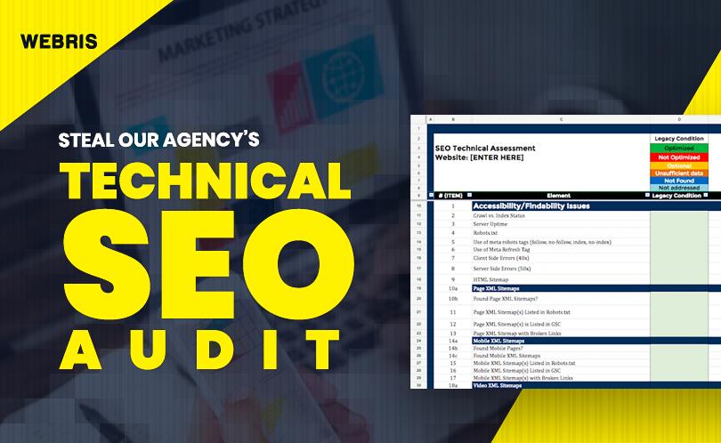 Technical SEO Audit Guide by Webris